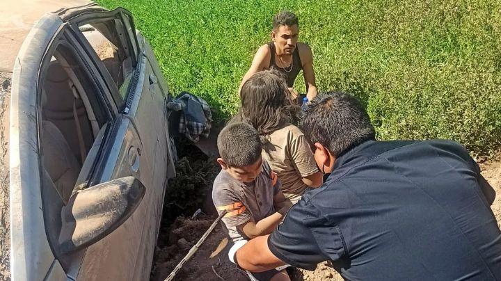Trágica Semana Santa: Familia sale de paseo y sufre grave accidente; muere bebé de 1 año