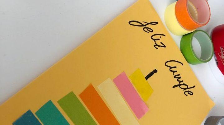 ¿No sabes qué regalarle? Este tutorial para hacer tarjetas de cumpleaños te salvará la vida