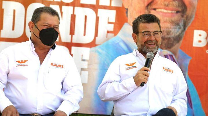 Ricardo Bours asegura que los candidatos a diputados de Movimiento Ciudadano son de calidad