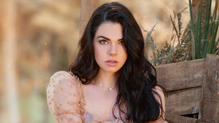Livia Brito, actriz de Televisa, escandaliza Instagram con impactante foto en bañador blanco