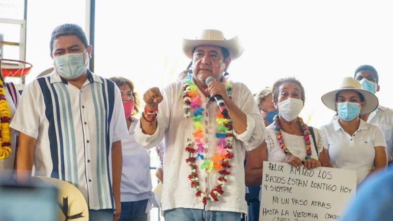 Elecciones 2021: Salgado Macedonio reúne gente en Acapulco; marcha por recuperar registro