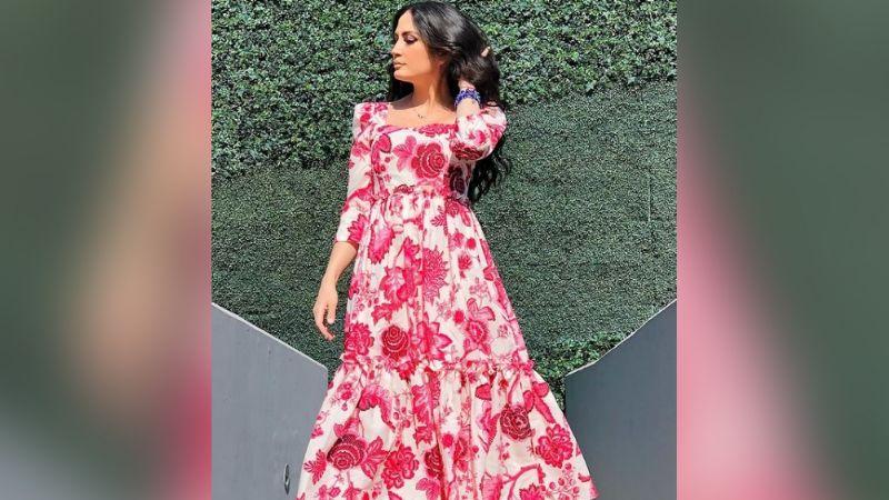 """""""La más hermosa de 'Sale el Sol'"""": Joanna Vega-Bientro roba suspiros en vestido rosa"""