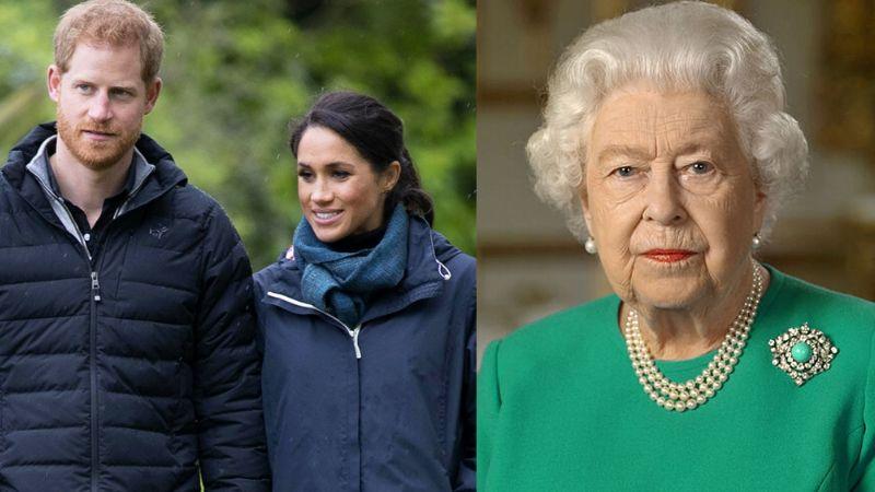 Golpe a la Reina Isabel II: Destapan nombre de la royal que 'atacó' al hijo de Meghan y Harry