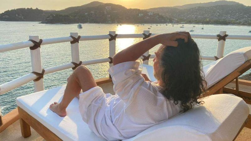 ¿Parece mujer? 'El Buki' hace estallar las redes al aparecer con este VIDEO desde la playa