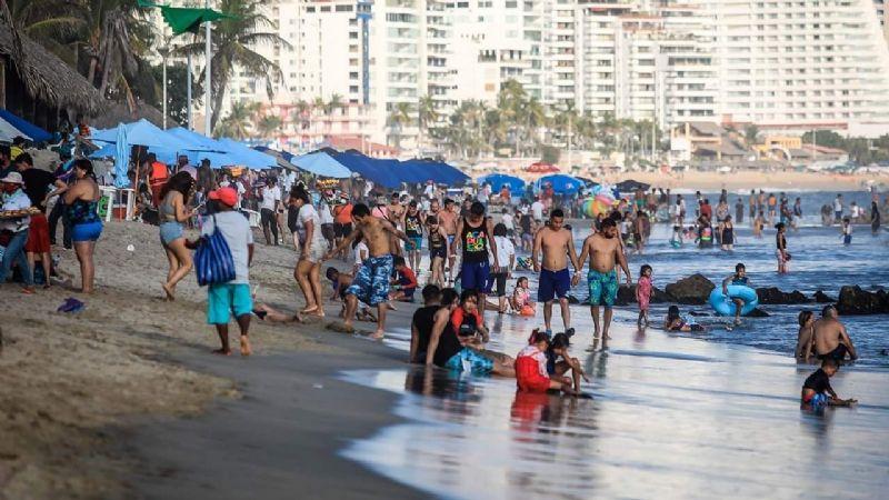 Destinos con playa registraron más del 50% de ocupación en Semana Santa pese a contingencia