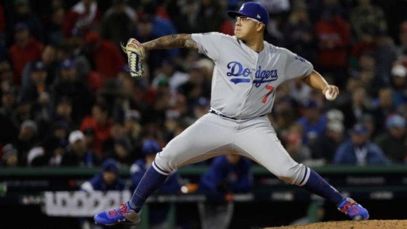 Julio Urías inicia con el pie derecho su presentación en la temporada 2021 con los Dodgers