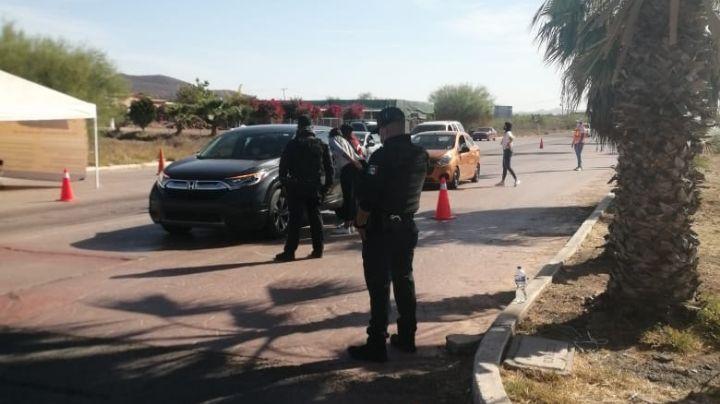 Baja afluencia de turistas registra Semana Santa en Guaymas, los 'asusta' filtro