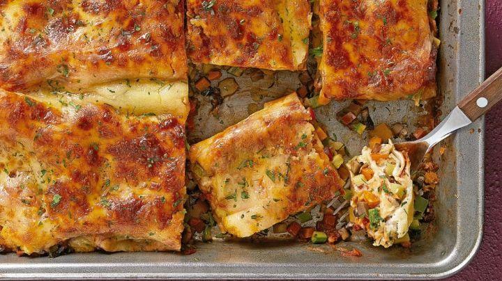 Prepara esta lasaña en microondas y lleva el sabor más italiano hasta tu paladar
