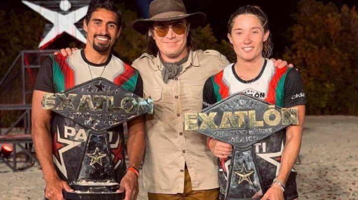 Fans abarrotan Aeropuerto de la CDMX tras llegada de los campeones de 'Exatlón México'