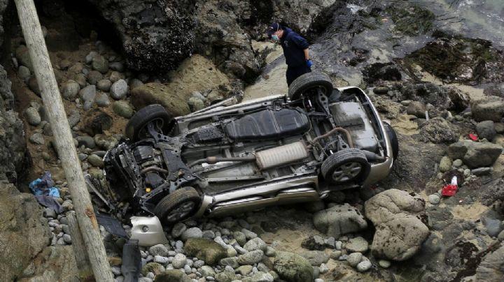 Madre e hija mueren tras caer desde un acantilado en la costa de San Francisco