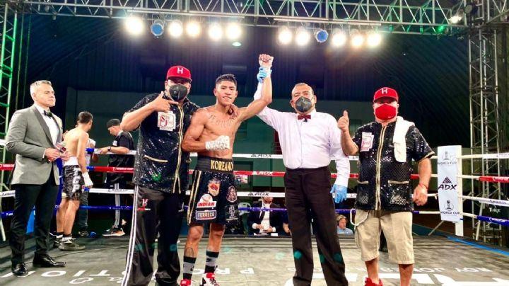 El 'Koreano' Torres mantiene su marca perfecta en el boxeo