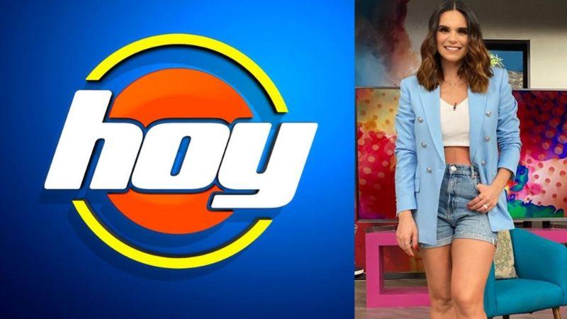¡Adiós Legarreta! Andrea deja 'Hoy' y Televisa la reemplaza con Tania Rincón