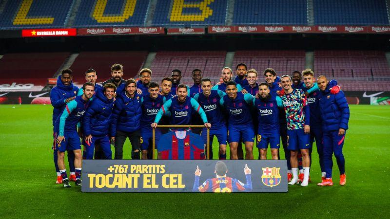 ¡Un récord más! Lionel Messi recibe homenaje tras alcanzar nueva marca con el FC Barcelona
