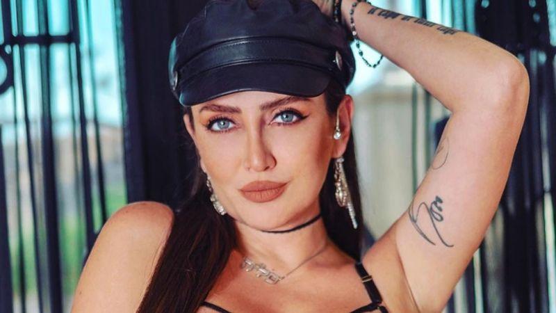 ¡Fuera pudor! Celia Lora presume sus más ocultos tatuajes en increíbles fotos de Instagram