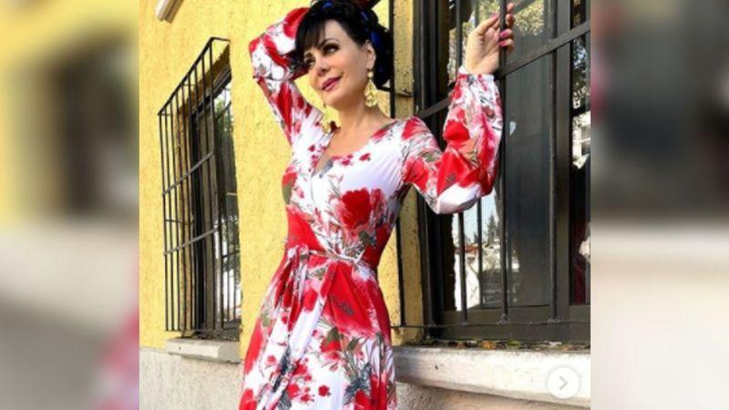 ¿Le llegaron los años? Maribel Guardia deja en shock al lucir como nunca antes a sus 61 años