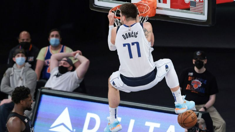 Luka Doncic y los Mavericks 'callan' al Jazz y le cortan su racha de victorias