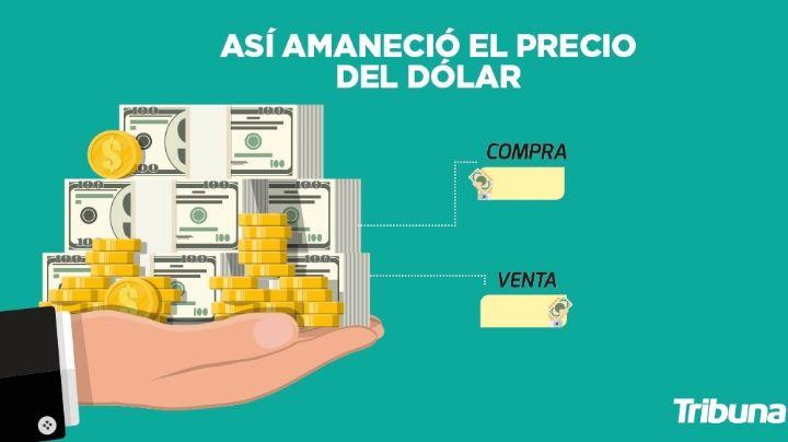Precio del dólar hoy en México: Este es el tipo de cambio promedio del miércoles 18 de agosto