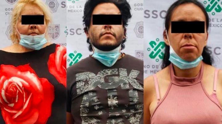 Golpe al narco: Autoridades de la CDMX detienen a 3 por venta de droga en la AO