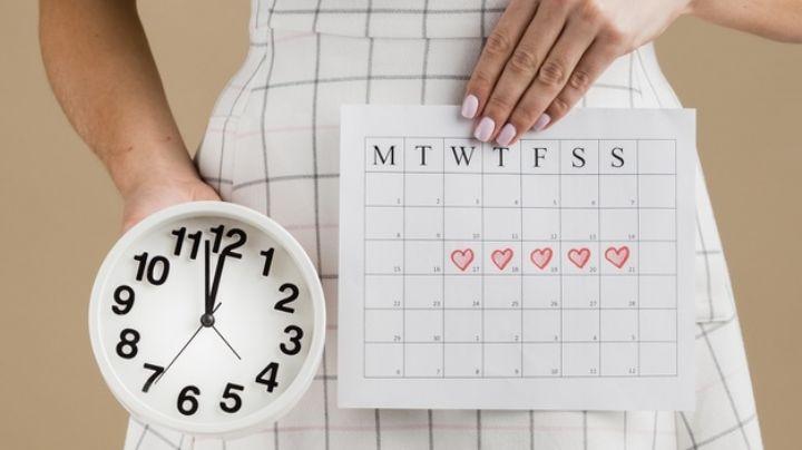Identifica las fechas más importantes de tu ciclo menstrual y anótalas en tu calendario