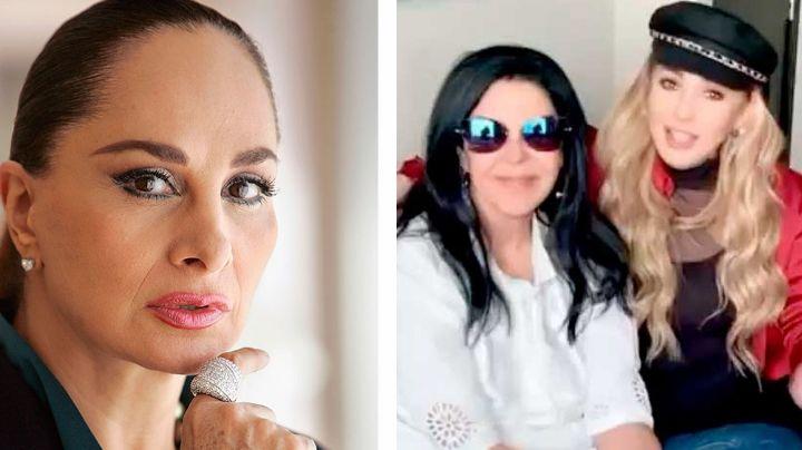 Desde 'Hoy', actriz de Televisa tunde a Paty Navidad y María Conchita por su teoría sobre el Covid-19