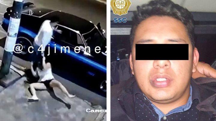 Cae Luis David, sujeto que golpeó, ahorcó y arrastró a mujer en calles de la Ciudad de México