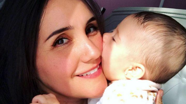 Dulce María, actriz de Televisa, comparte el video más tierno de su bebé, María Paula