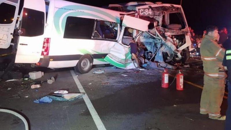Tragedia en Sonora: Accidente en carretera Caborca-Sonoyta deja 13 muertos