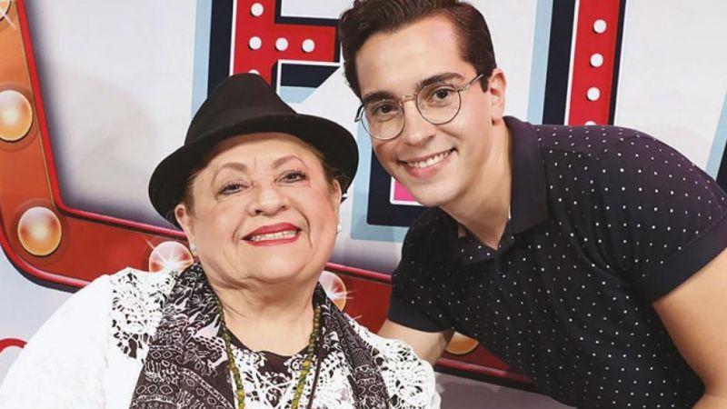 """""""El amor me ganó"""": Tras maltratos, actriz de Televisa perdona a su nieto y viven juntos"""