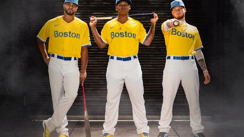 ¿Los Medias Amarillas de Boston? Revelan su uniforme edición especial; conócelo