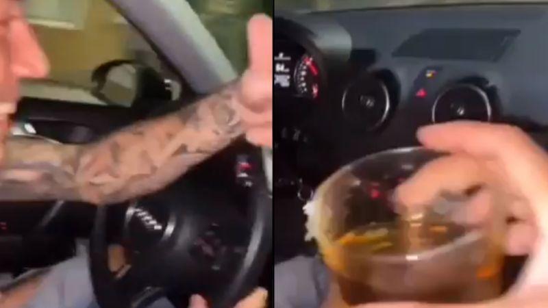VIDEO: Suben historias de ellos bebiendo en auto; en seguida, chocan y fallecen 2