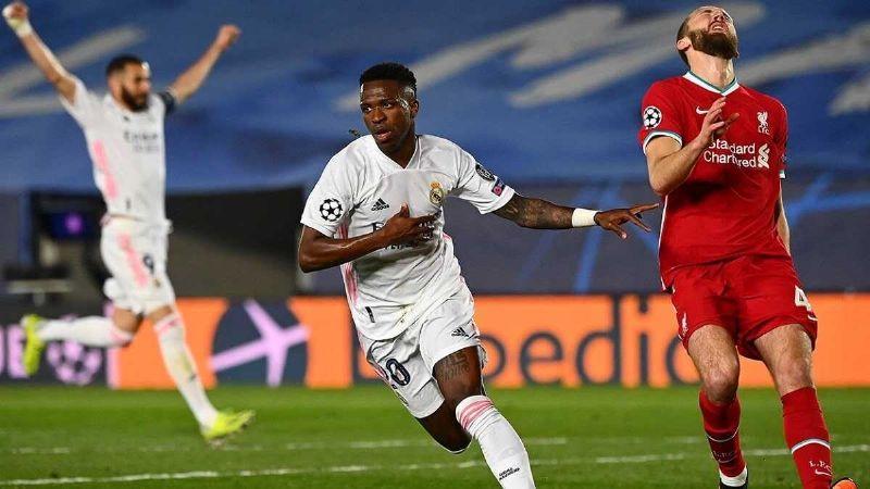Vinícius se viste de héroe y le da la victoria al Real Madrid en Champions