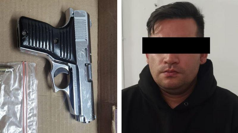 Evitan tragedia en Navojoa: Capturan a sujeto en posesión de arma de fuego durante riña