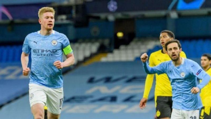 El Manchester City de último minuto vence al Dortmund y toma ventaja en Champions