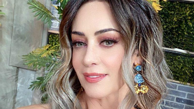 A sus 49 años, Anette Michel, actriz de TV Azteca, se luce con radiante bañador en la playa