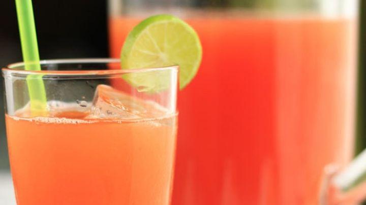Esta agua de papaya con limón será la opción más deliciosa para aliviar la indigestión