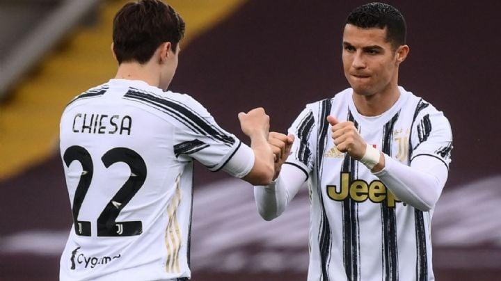 Tres puntos  de oro; la Juventus se impone ante el Napoli y trepa al tercer lugar de la Serie A