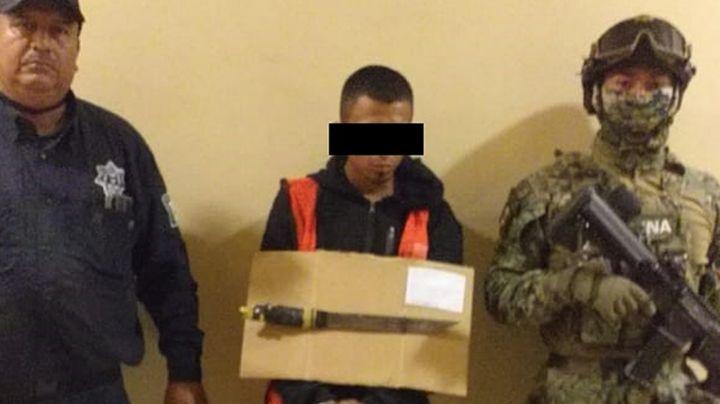 Sacan de las calles a Joel, presunto ladrón de tiendas de conveniencia en Ciudad Obregón