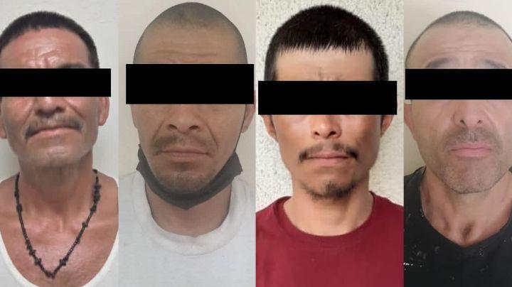 Autoridades capturan a cuatro delincuentes en posesión de drogas al norte de Sonora