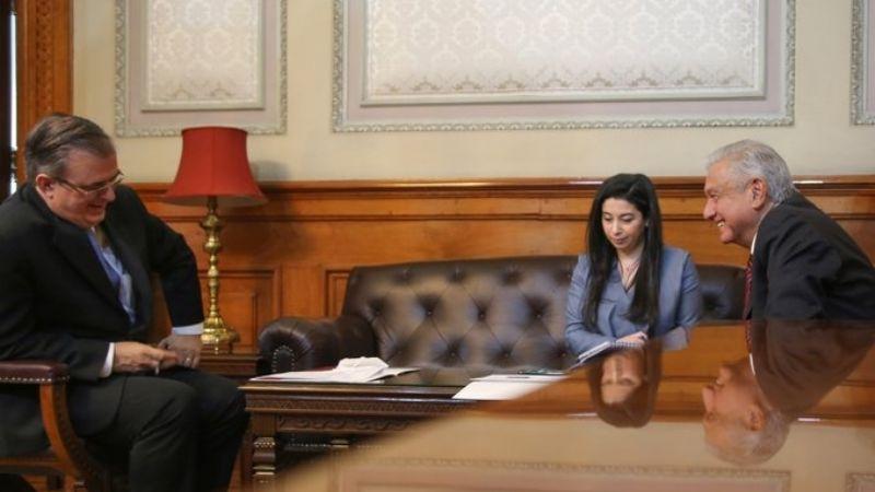 AMLO sostiene reunión con Kamala Harris para abordar migración de centroamericanos