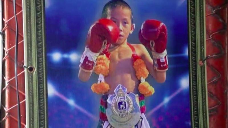 Golpeando la pobreza: 'Tata', el niño de 9 años que boxea para mantener a su familia
