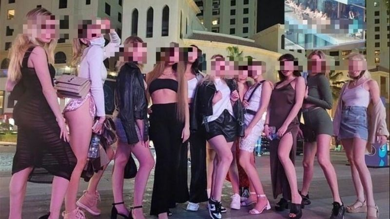 Modelos ucranianas que posaron desnudas en un balcón de Dubai serán deportadas
