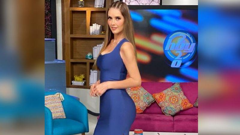 ¡Señora! Marlene Favela causa desequilibrio al presumir envidiable figura en ajustado vestido