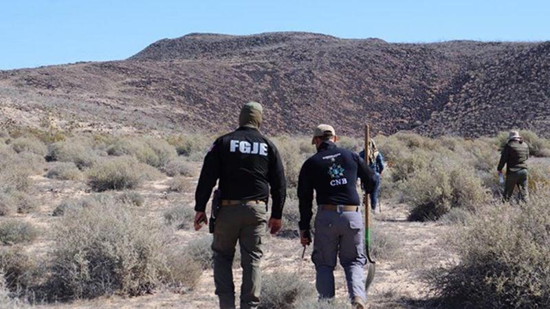 Descubren cadáver de mujer enterrado en predio de Nogales; fue hallado en los huesos