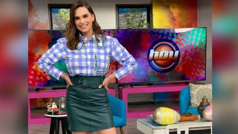 """Tania Rincón se mantiene en 'Hoy' y le piden que abandone Televisa: """"Sal de esa mala vibra"""""""