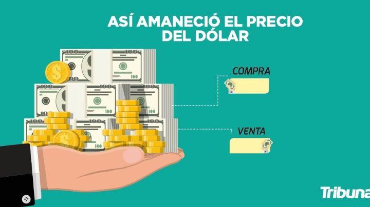 Precio del dólar para hoy jueves 8 de abril del 2021 al tipo de cambio actual