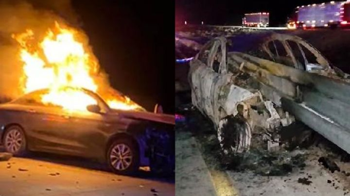 Tragedia en Sonora: Brutal accidente en carretera deja dos heridos; una de las víctimas tiene 9 años