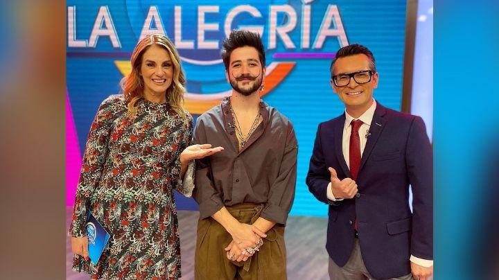 ¿Nuevo conductor de 'Venga la Alegría'? Camilo se integra al matutino y da sorpresa a TV Azteca