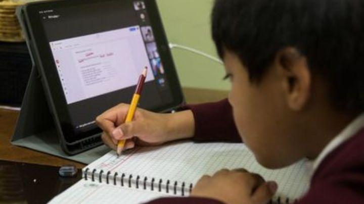 Unicef pide acelerar la reanudación de clases presenciales y frenar el rezago educativo