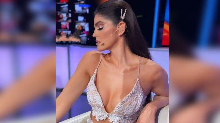 """""""Perr..."""": Ana Bárbara roba hasta el último suspiro al modelar inquietante atuendo en 'TTMT'"""