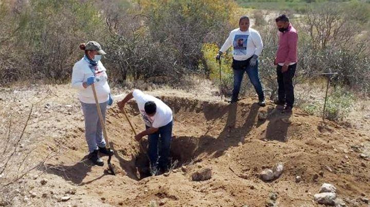 Descubren cementerio clandestino a las afueras de Hermosillo; habría hasta cuatro cadáveres